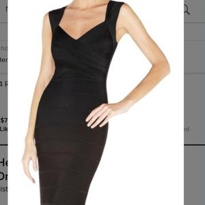 Here Leger Estrella Bandage Gown Dress size L